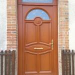 Menuiseries, pose de porte d'entrée, Romilly sur Seine, Nogent sur Seine, dans l'Aube, 10