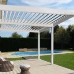 Protections solaires, Pergola bio climatique Provins en Seine et Marne, 77