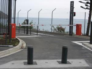 Motorisation, borne escamotable Marne - Aube - Seine et Marne