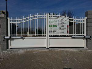 Portail, GM Fermetures, menuisier à Marcilly sur Seine, Sézanne, Marne, Aube